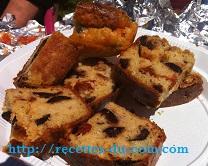 CAKE OLIVES TOMATES