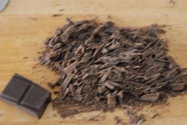 chocolat rapé