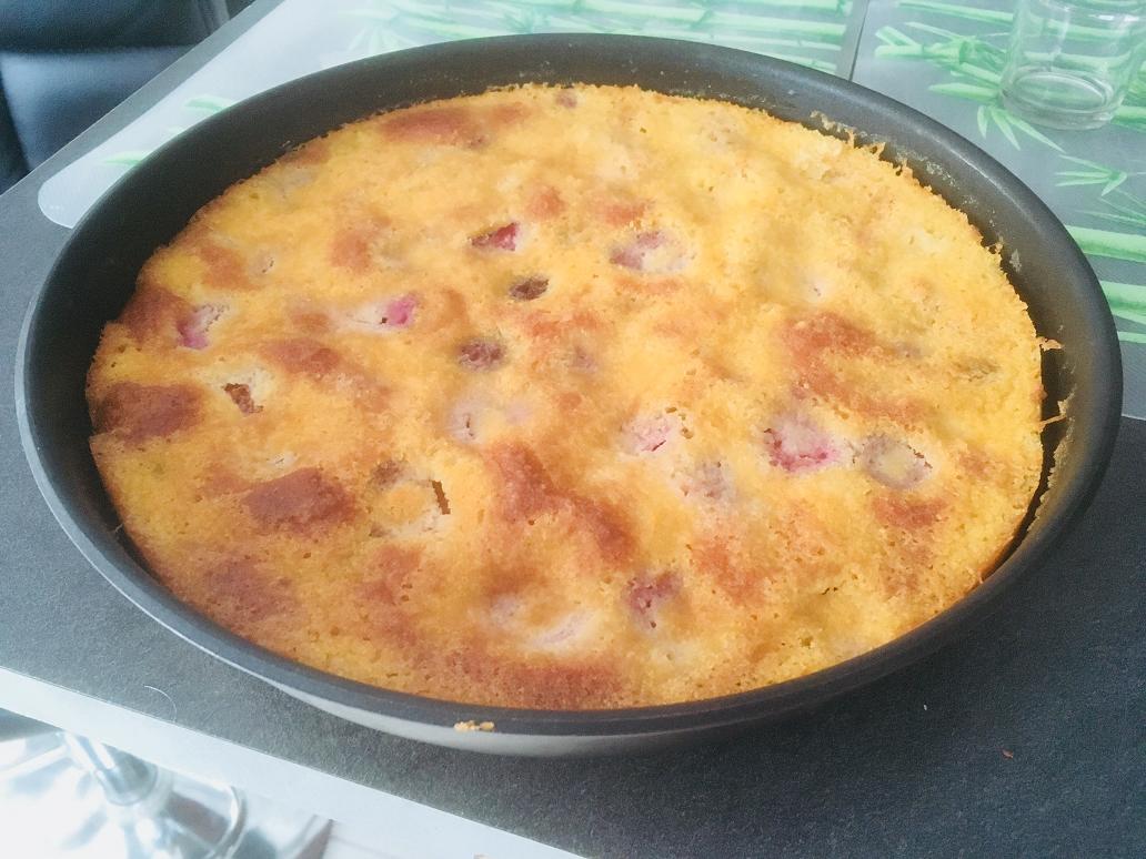 Gâteau moelleux aux prunes