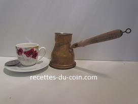 CAFE TURQUE fleur d oranger