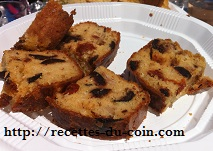 CAKE OLIVES TOMATES DUCOIN