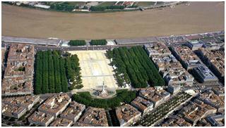 BORDEAUX DESTINATION PLACE DES QUINCONCES