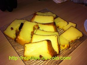 flan cake facile