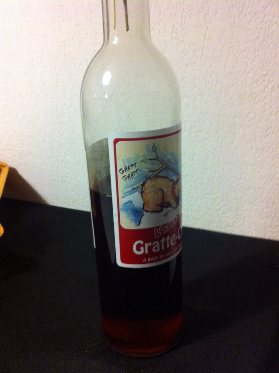 liqueur de gratte cul