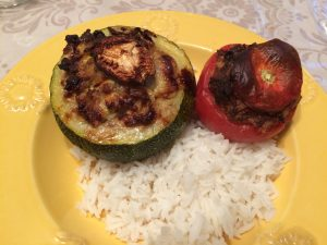 COURGETTES FARCIES DUCOIN