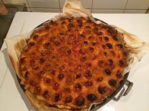 Tarte mirabelles flan pâtissier façon Sergueï