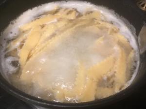 Pâte fraîche semoule farine